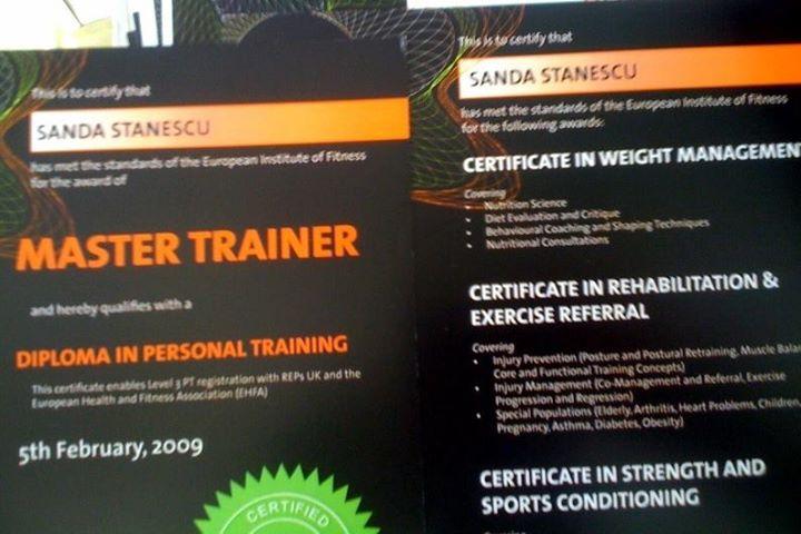 Sanda Master Trainer